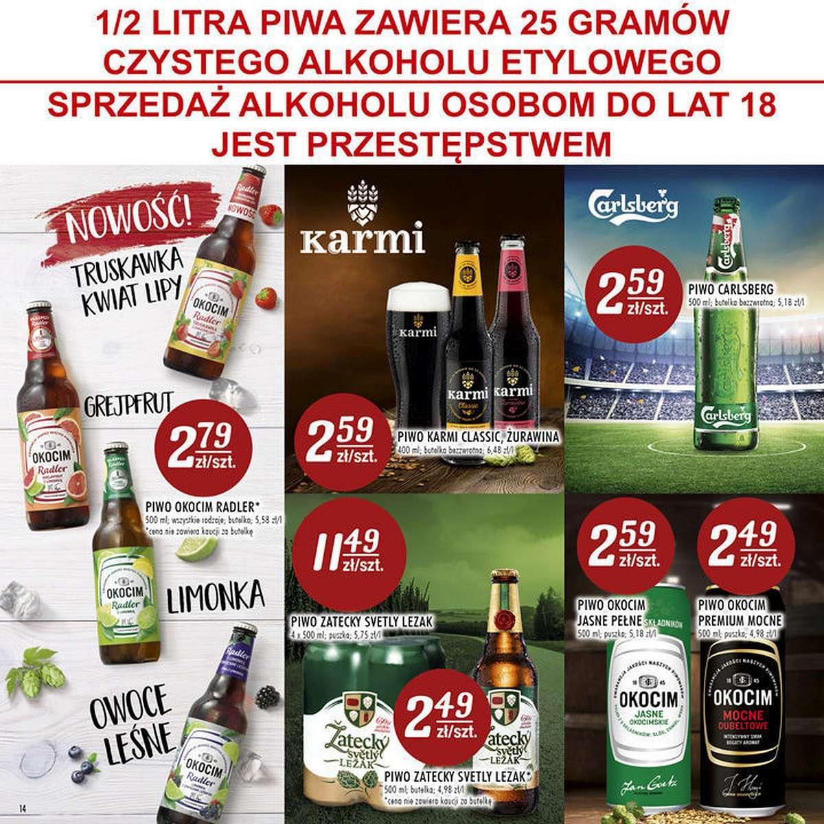 Gazetka promocyjna Stokrotka do 27/06/2018 str.14