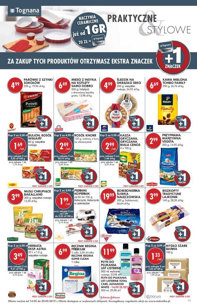Gazetka promocyjna Stokrotka do 20/02/2019 str.10