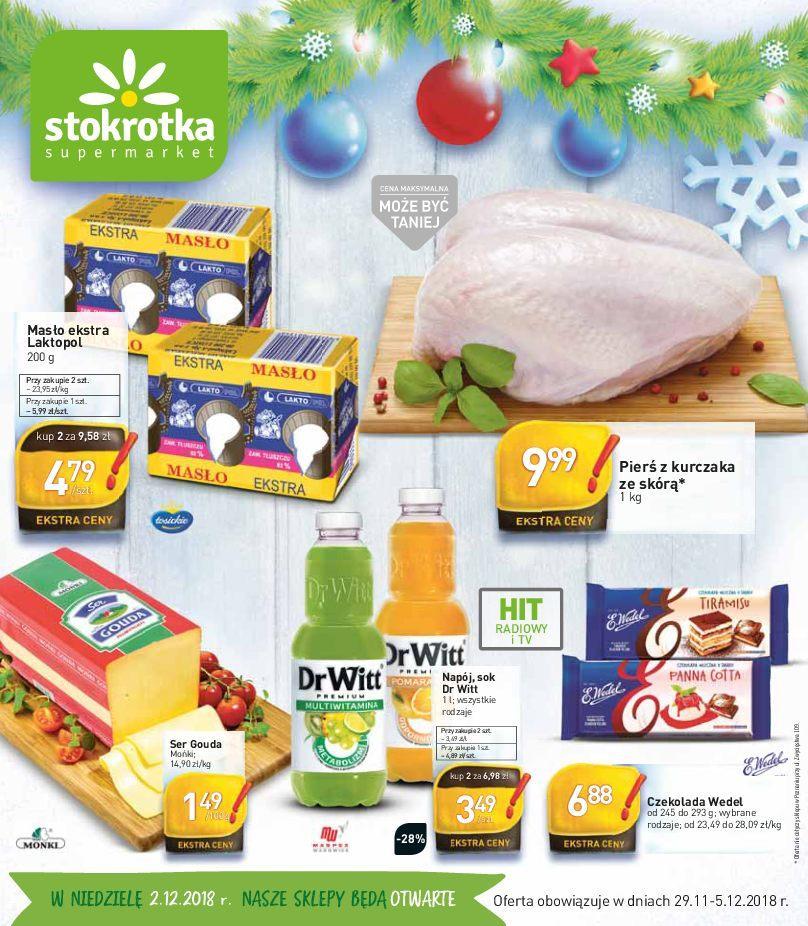 Gazetka promocyjna Stokrotka do 05/12/2018 str.0