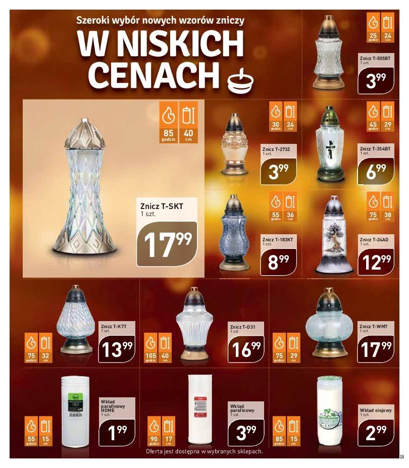 Gazetka promocyjna Stokrotka do 24/10/2018 str.15