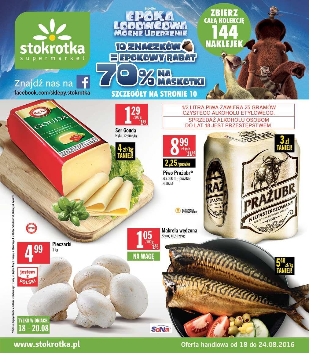 Gazetka promocyjna Stokrotka do 24/08/2016 str.0