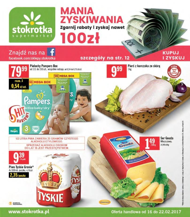 Gazetka promocyjna Stokrotka do 22/02/2017 str.0