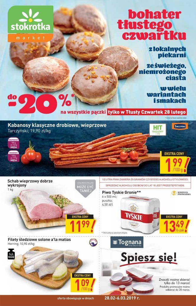 Gazetka promocyjna Stokrotka do 06/03/2019 str.0