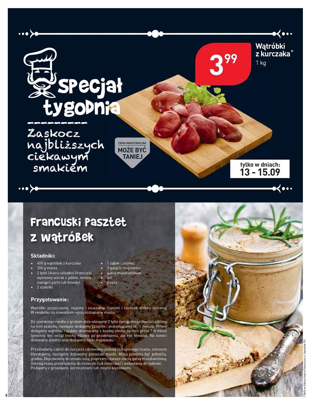 Gazetka promocyjna Stokrotka do 19/09/2018 str.6
