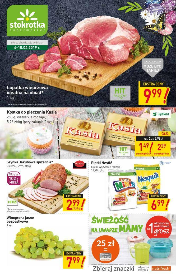 Gazetka promocyjna Stokrotka do 10/04/2019 str.0