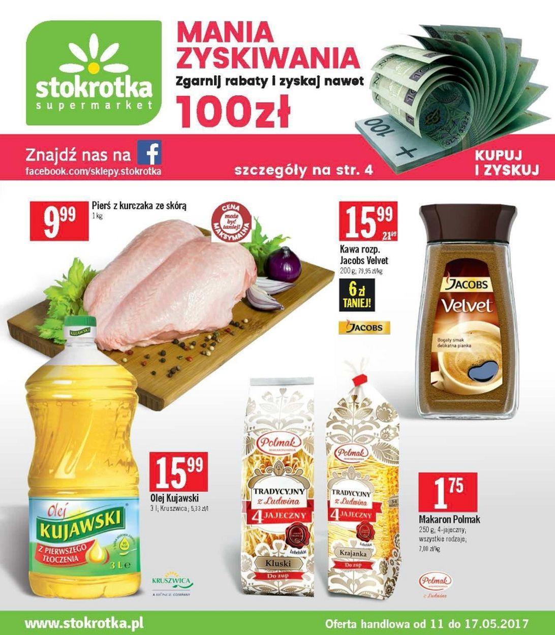 Gazetka promocyjna Stokrotka do 17/05/2017 str.0