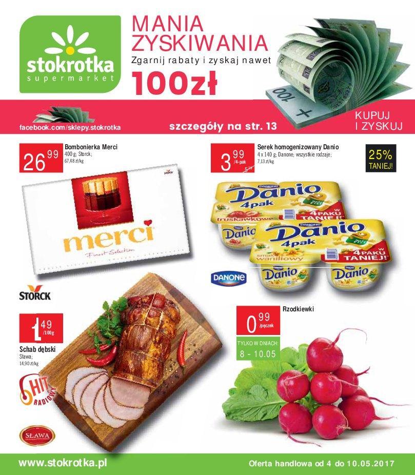 Gazetka promocyjna Stokrotka do 10/05/2017 str.0