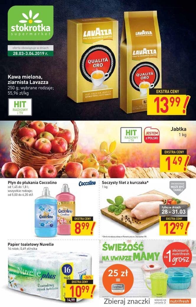 Gazetka promocyjna Stokrotka do 03/04/2019 str.0