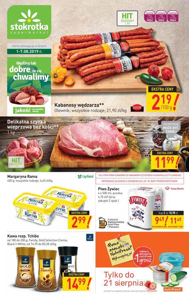 Gazetka promocyjna Stokrotka do 07/08/2019 str.0