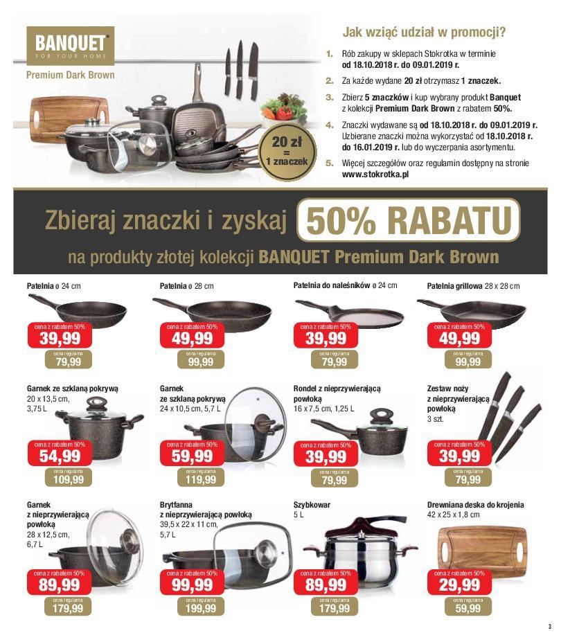 Gazetka promocyjna Stokrotka do 24/10/2018 str.3