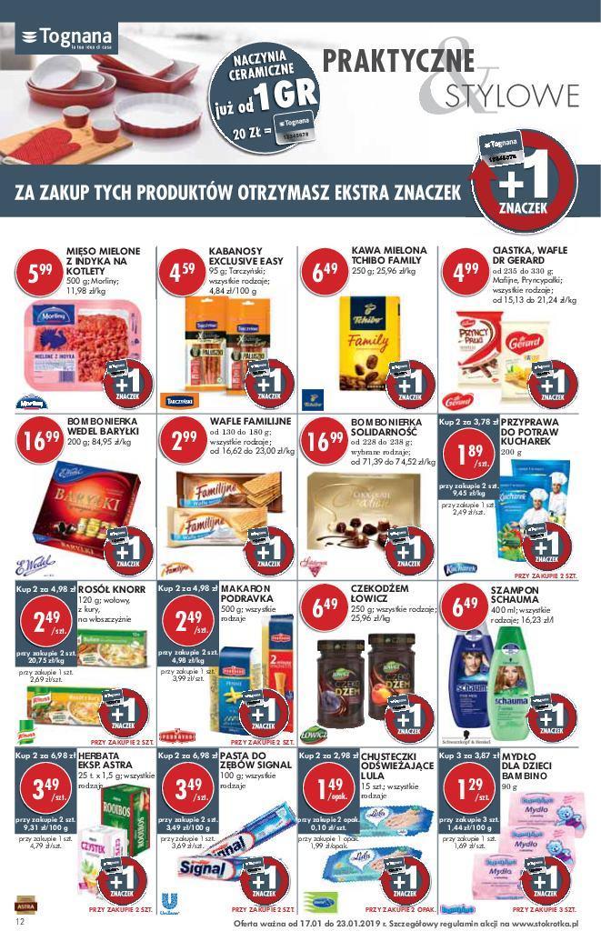 Gazetka promocyjna Stokrotka do 23/01/2019 str.12