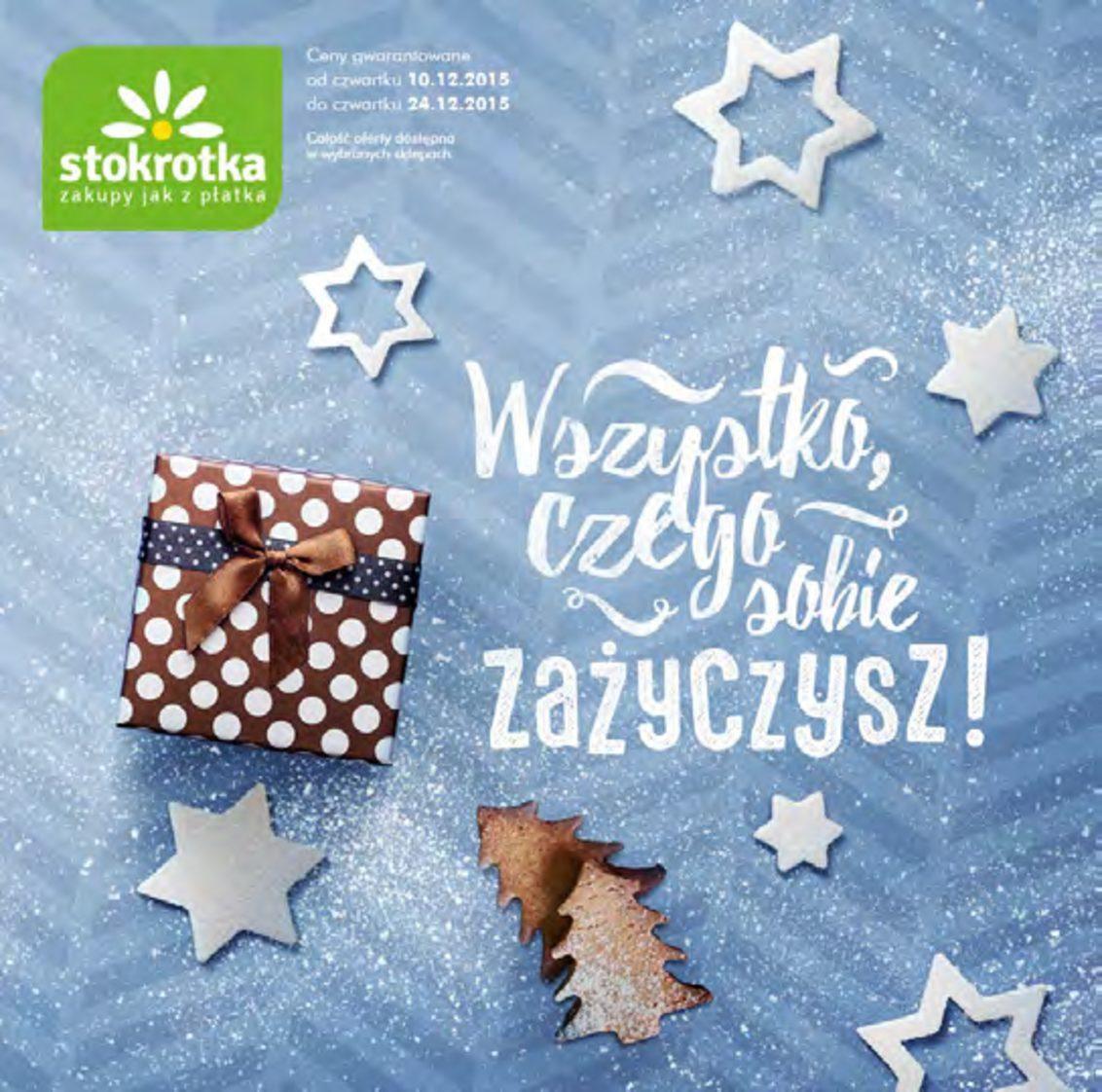 Gazetka promocyjna Stokrotka do 24/12/2015 str.0