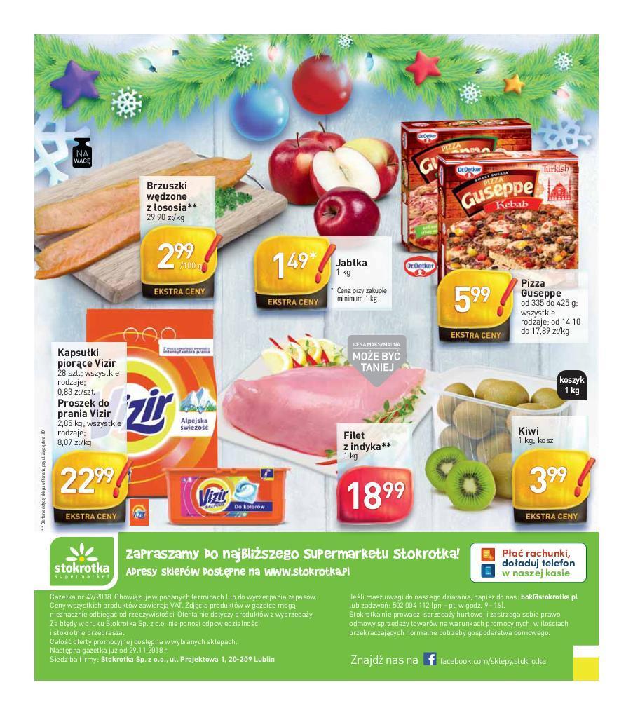 2401bc0d7930c9 Gazetka promocyjna i reklamowa Stokrotka,