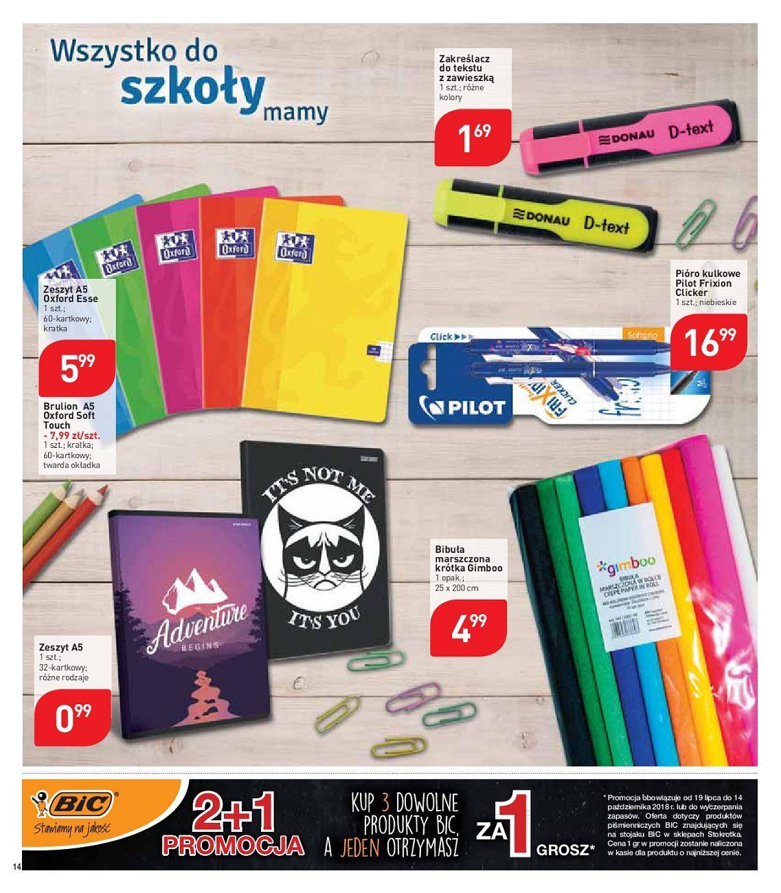 Gazetka promocyjna Stokrotka do 22/08/2018 str.14