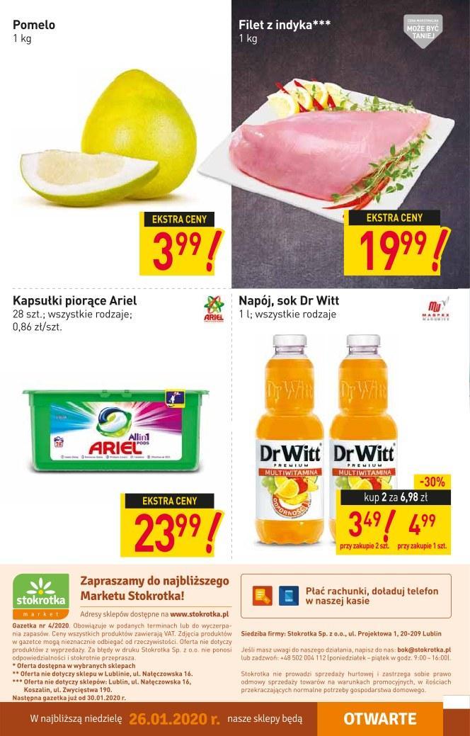 Gazetka promocyjna Stokrotka do 29/01/2020 str.11