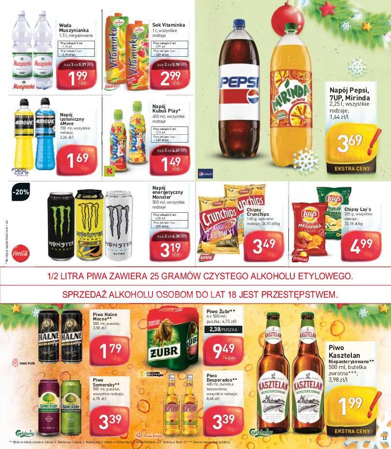 Gazetka promocyjna Stokrotka do 05/12/2018 str.13