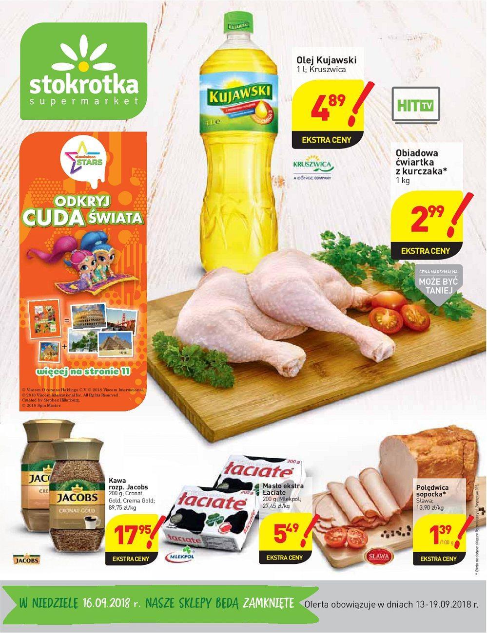 Gazetka promocyjna Stokrotka do 19/09/2018 str.0