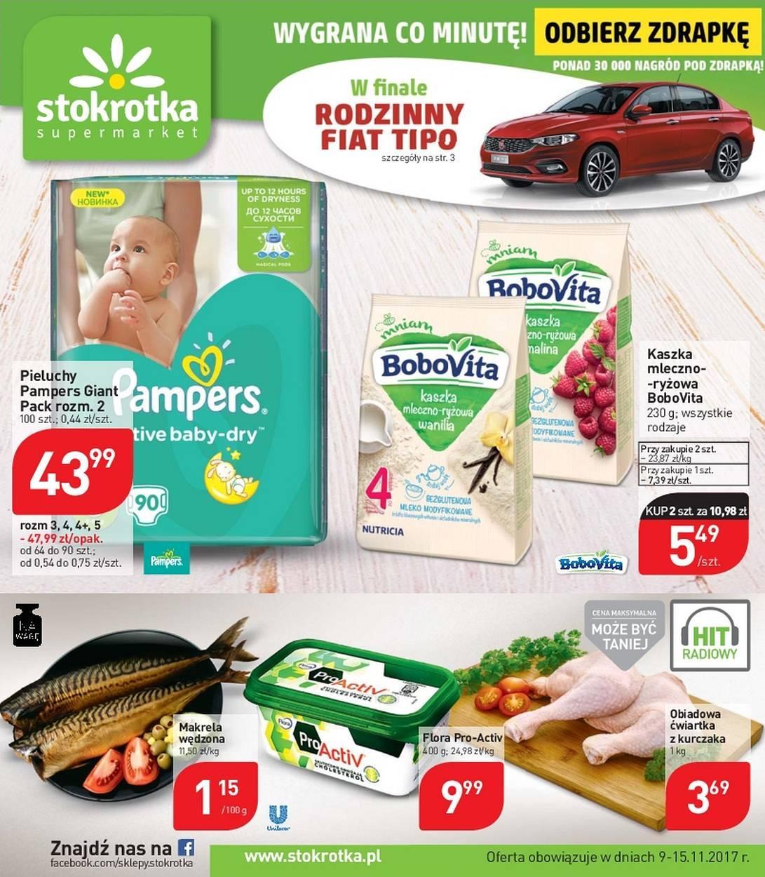 Gazetka promocyjna Stokrotka do 15/11/2017 str.0