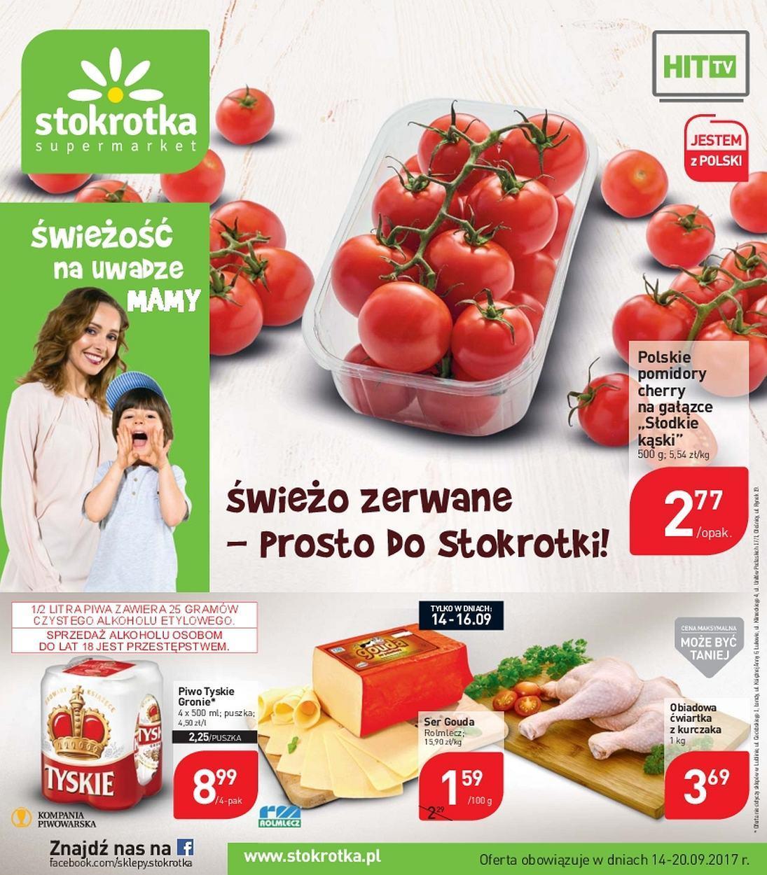 Gazetka promocyjna Stokrotka do 20/09/2017 str.0