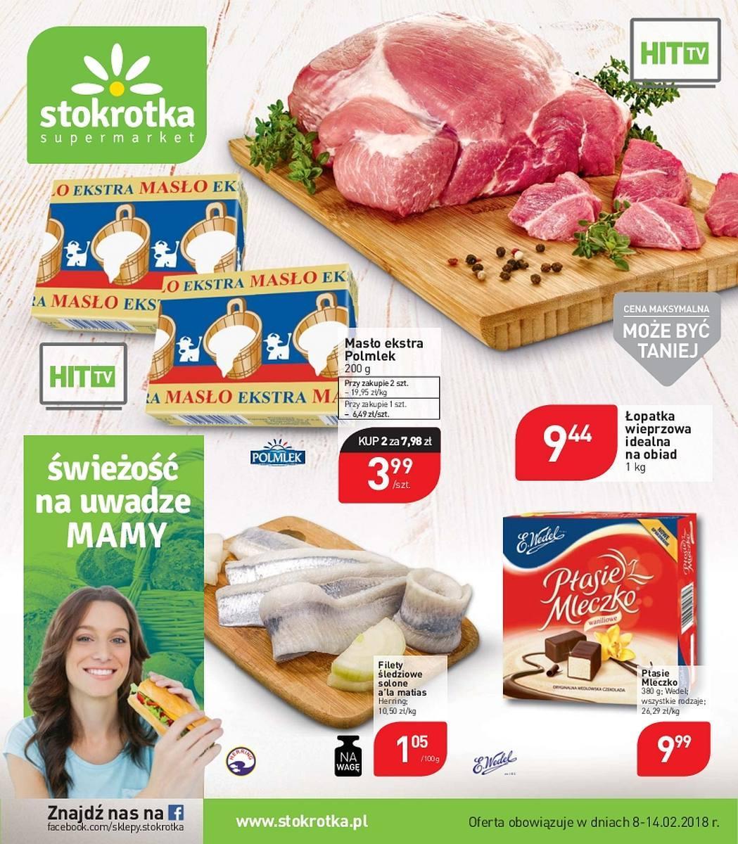 Gazetka promocyjna Stokrotka do 14/02/2018 str.0