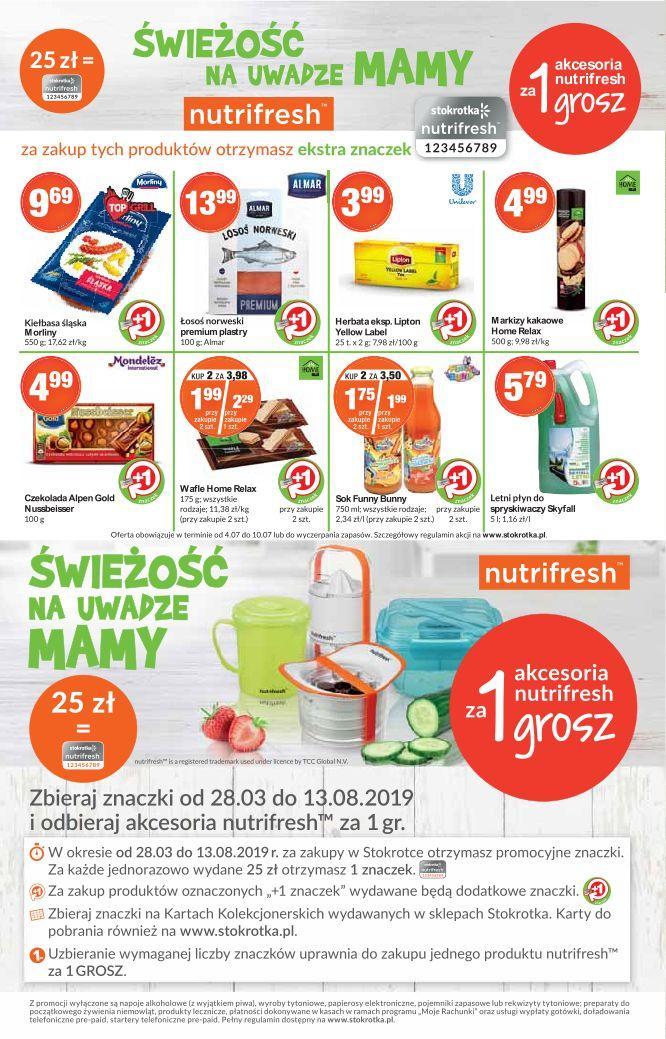 Gazetka promocyjna Stokrotka do 10/07/2019 str.9