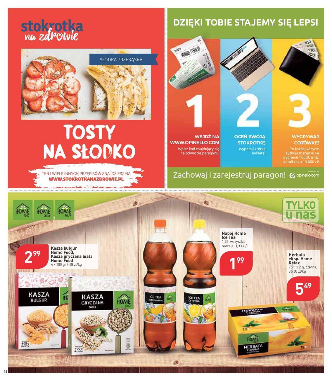 Gazetka promocyjna Stokrotka do 13/06/2018 str.14