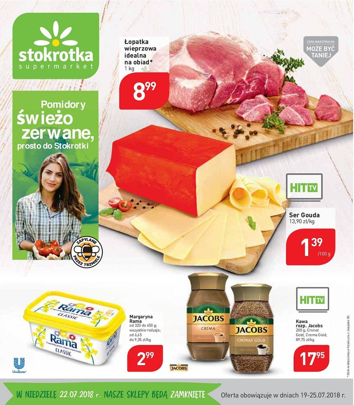 Gazetka promocyjna Stokrotka do 25/07/2018 str.1