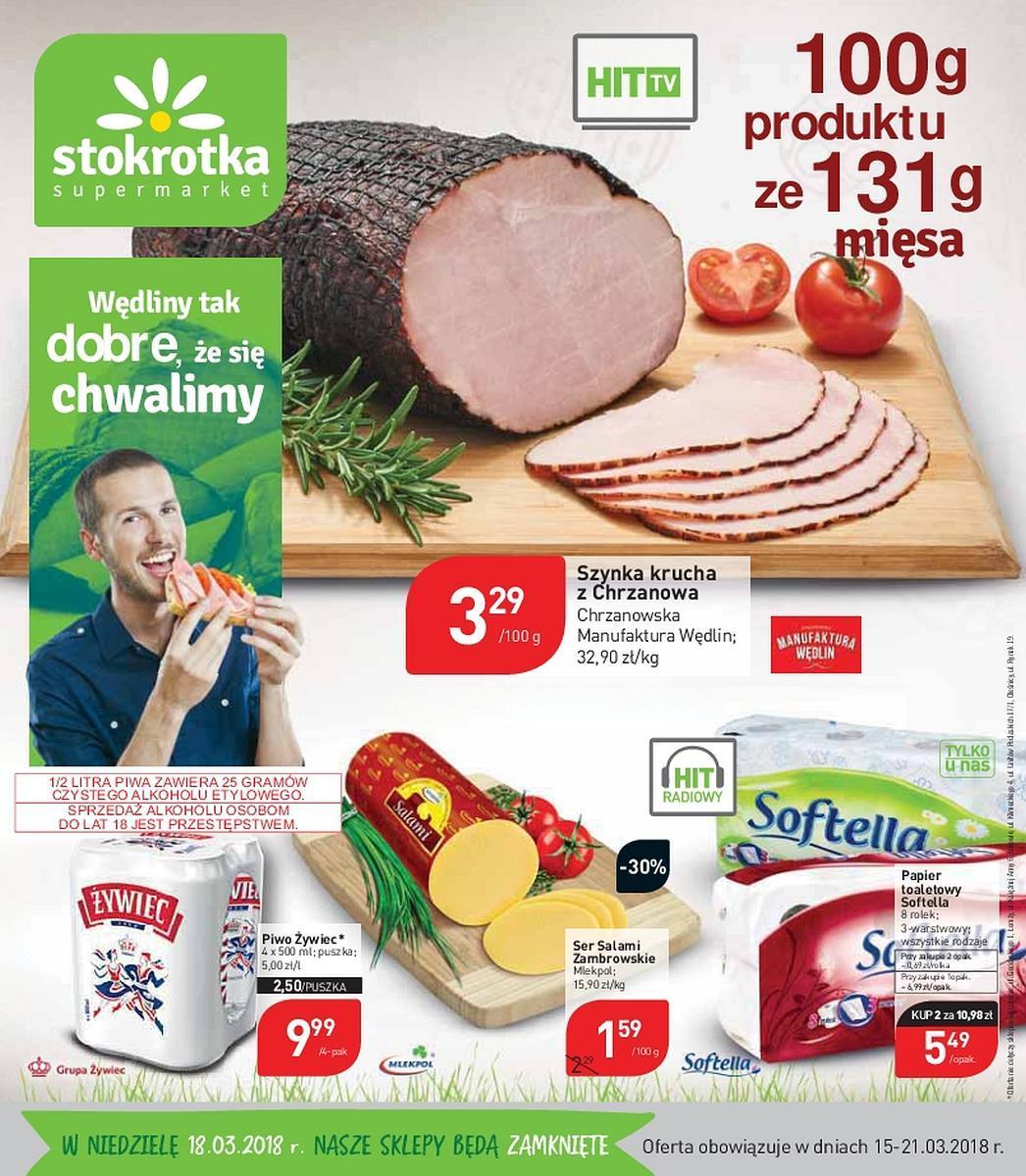 Gazetka promocyjna Stokrotka do 21/03/2018 str.0