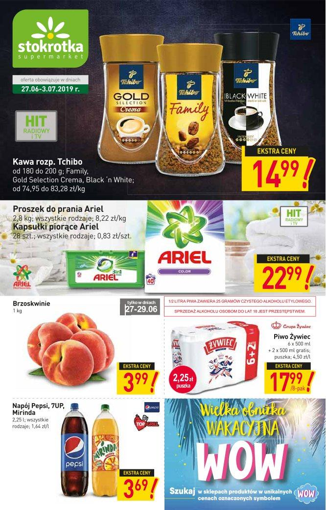 Gazetka promocyjna Stokrotka do 03/07/2019 str.1