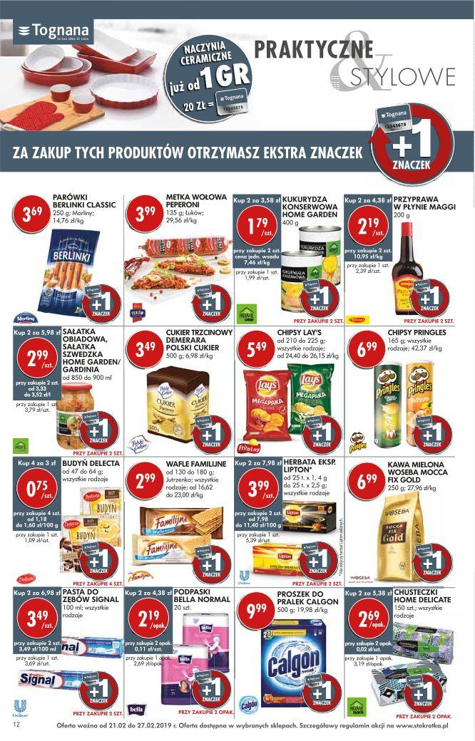 Gazetka promocyjna Stokrotka do 27/02/2019 str.11