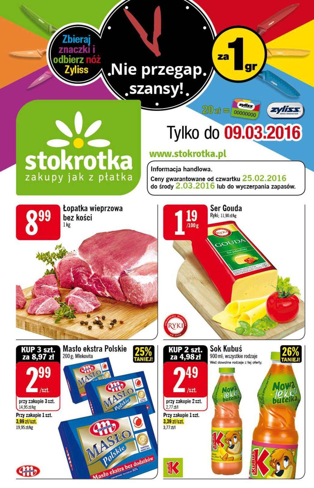 Gazetka promocyjna Stokrotka do 02/03/2016 str.0