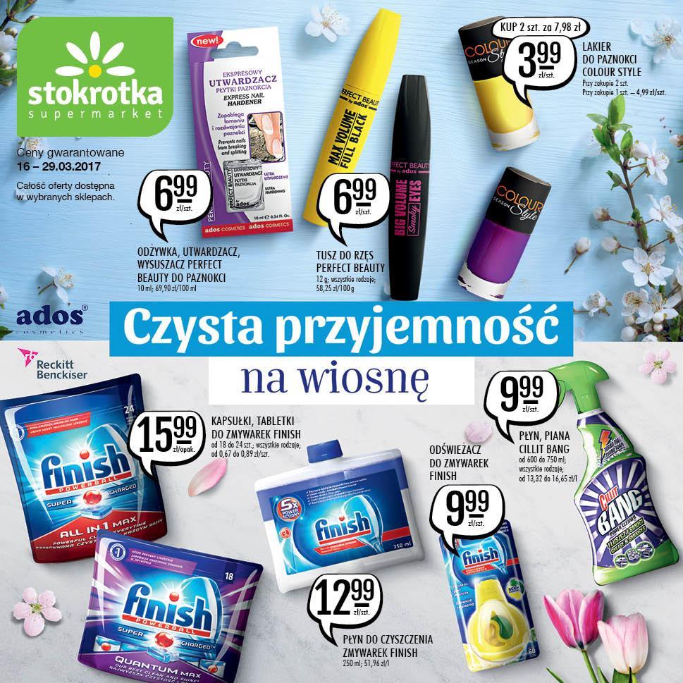 Gazetka promocyjna Stokrotka do 29/03/2017 str.0