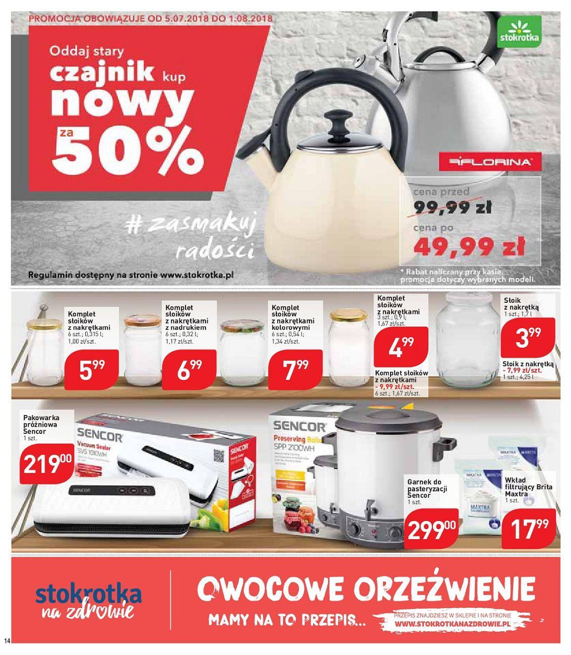 Gazetka promocyjna Stokrotka do 11/07/2018 str.14