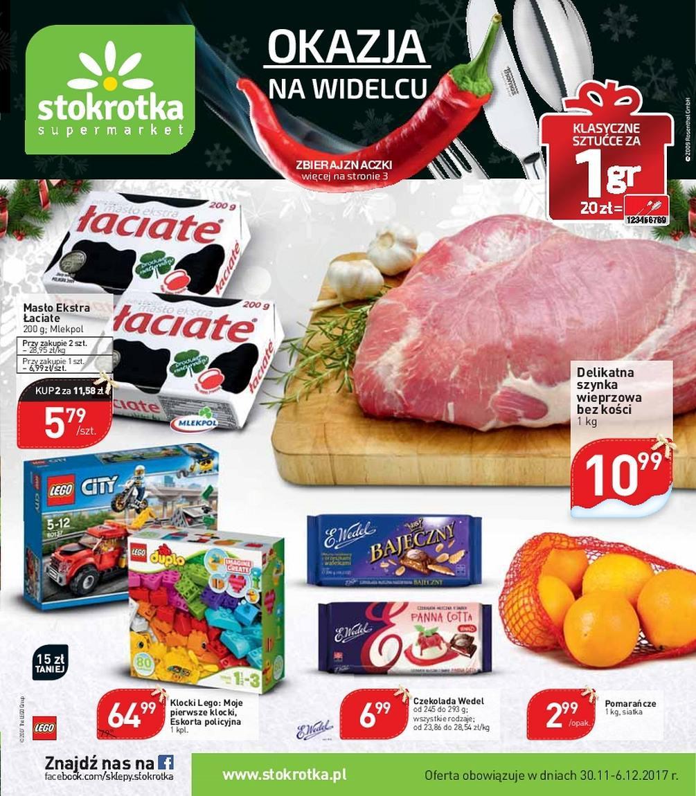 Gazetka promocyjna Stokrotka do 06/12/2017 str.0