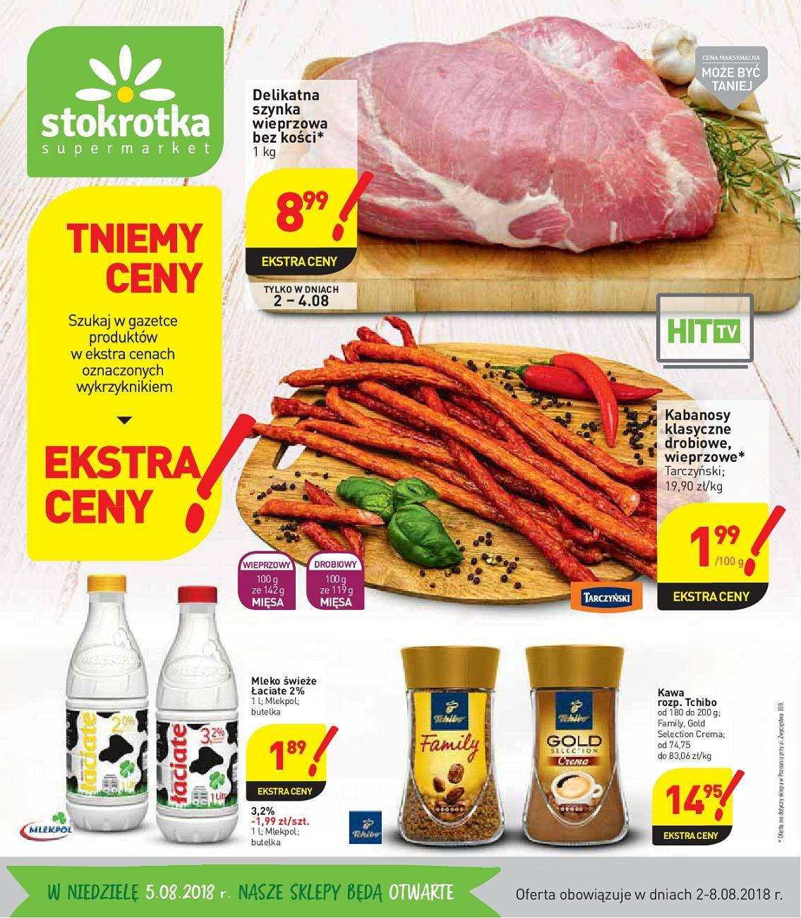 Gazetka promocyjna Stokrotka do 08/08/2018 str.0