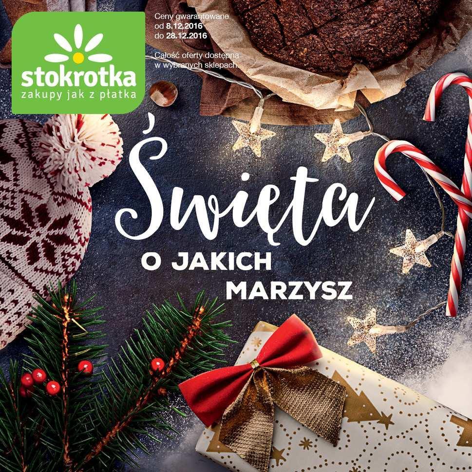 Gazetka promocyjna Stokrotka do 28/12/2016 str.0
