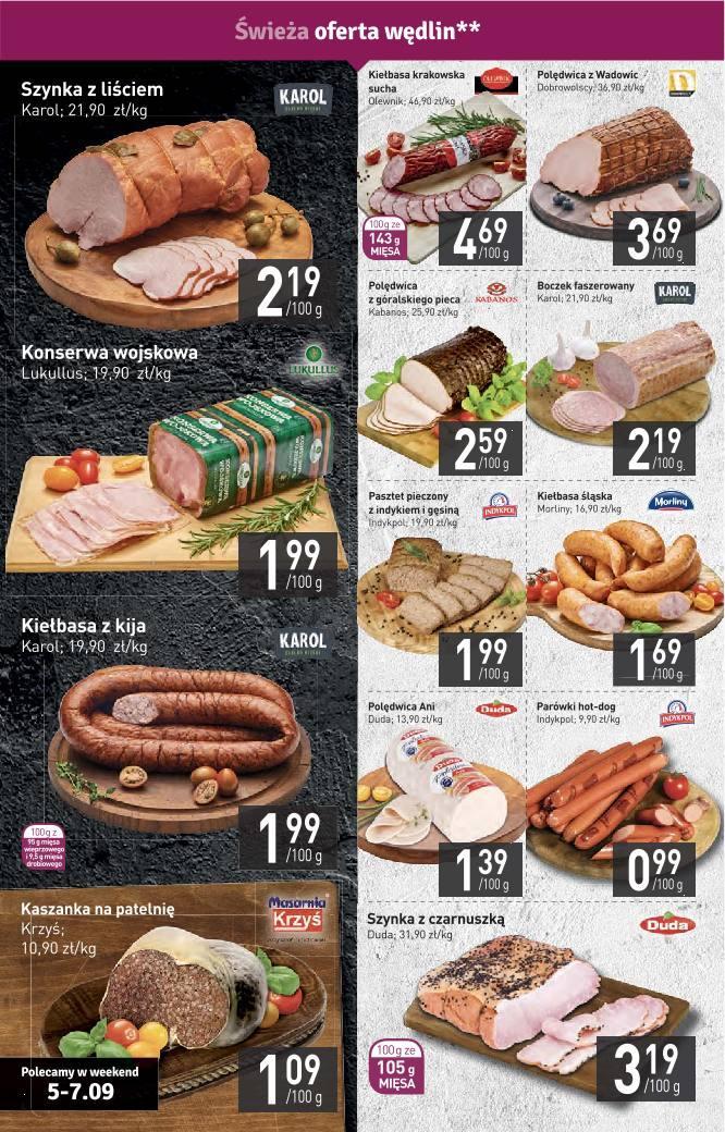 Gazetka promocyjna Stokrotka do 11/09/2019 str.4