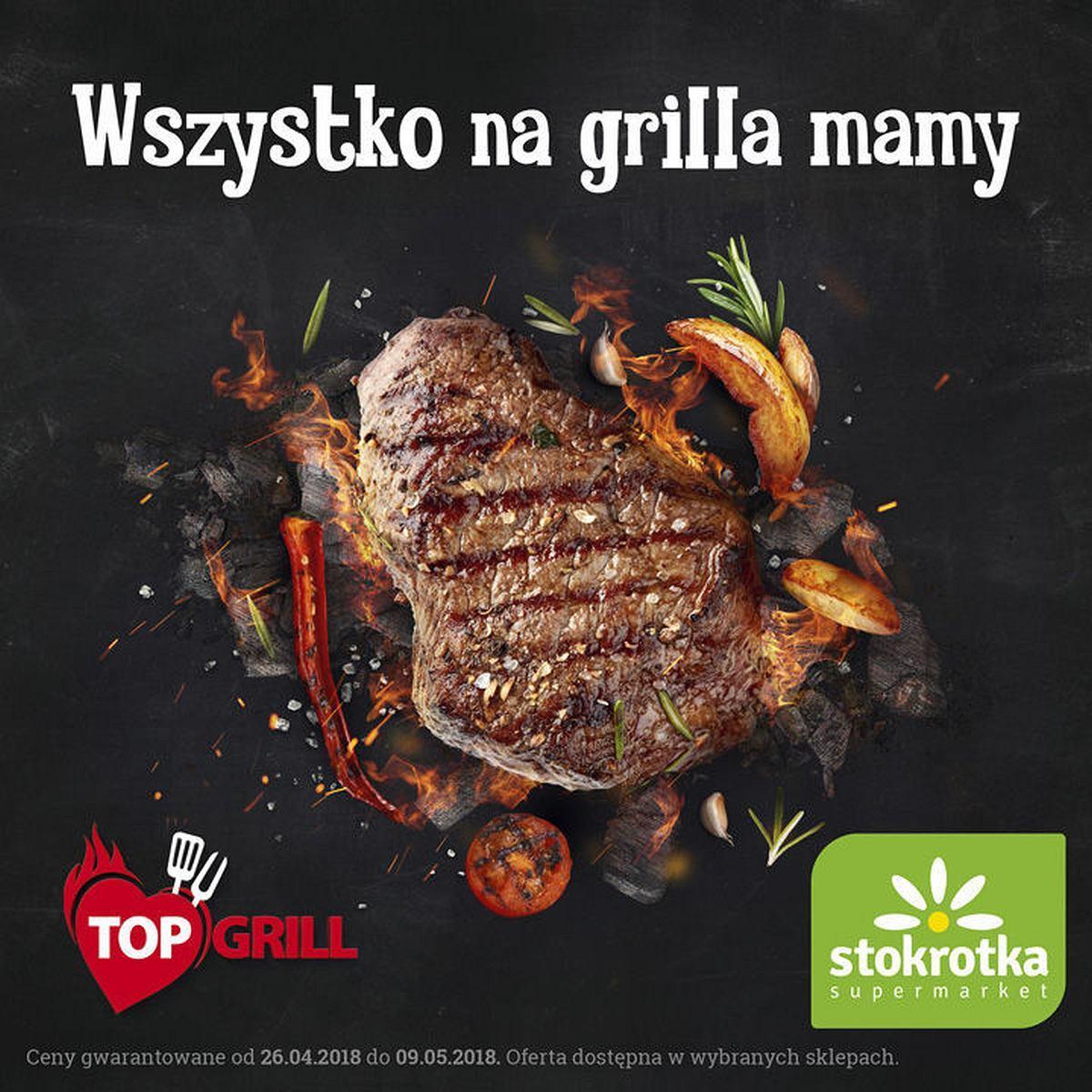 Gazetka promocyjna Stokrotka do 09/05/2018 str.0