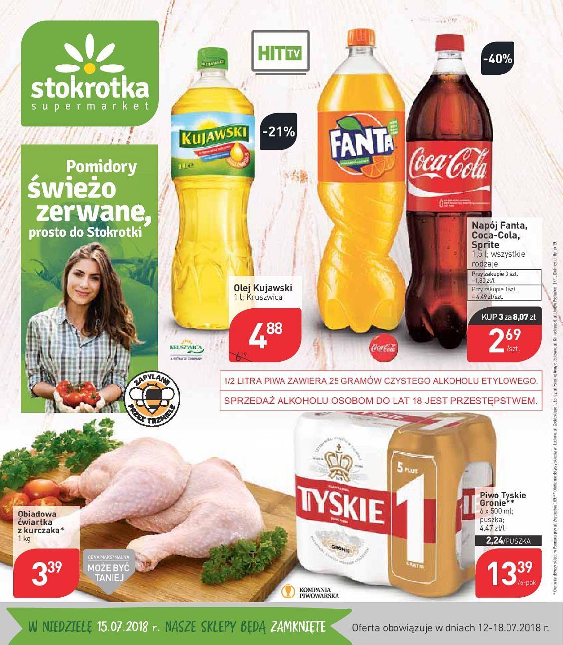 Gazetka promocyjna Stokrotka do 18/07/2018 str.0