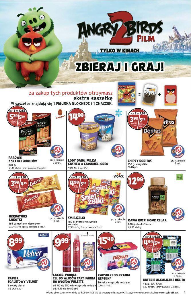 Gazetka promocyjna Stokrotka do 11/09/2019 str.7