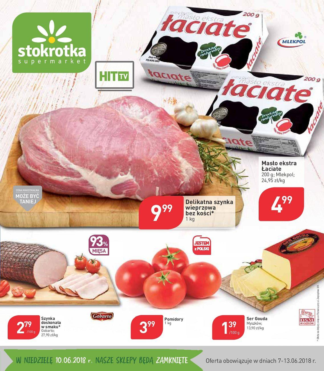 Gazetka promocyjna Stokrotka do 13/06/2018 str.0