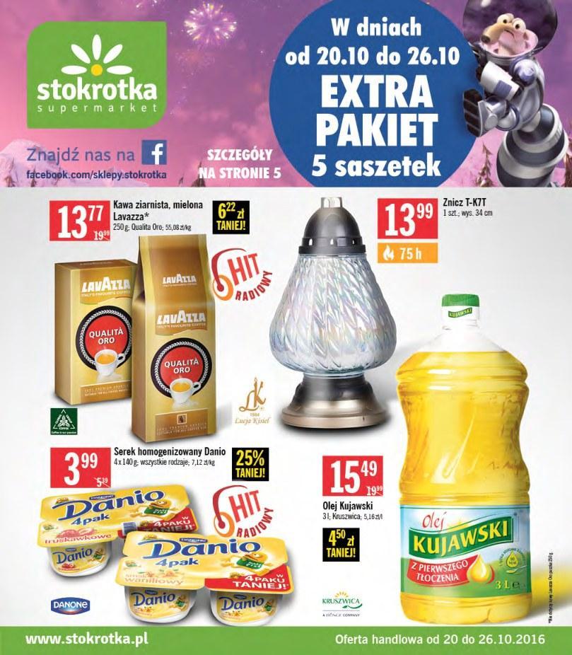 Gazetka promocyjna Stokrotka do 26/10/2016 str.0