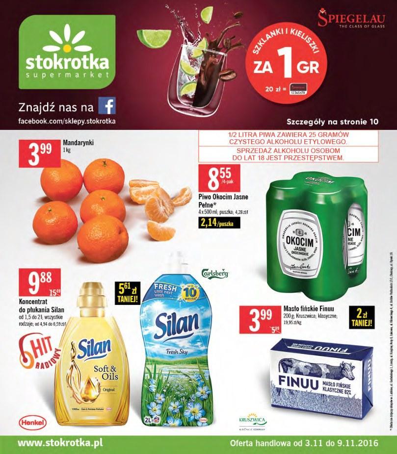 Gazetka promocyjna Stokrotka do 09/11/2016 str.0