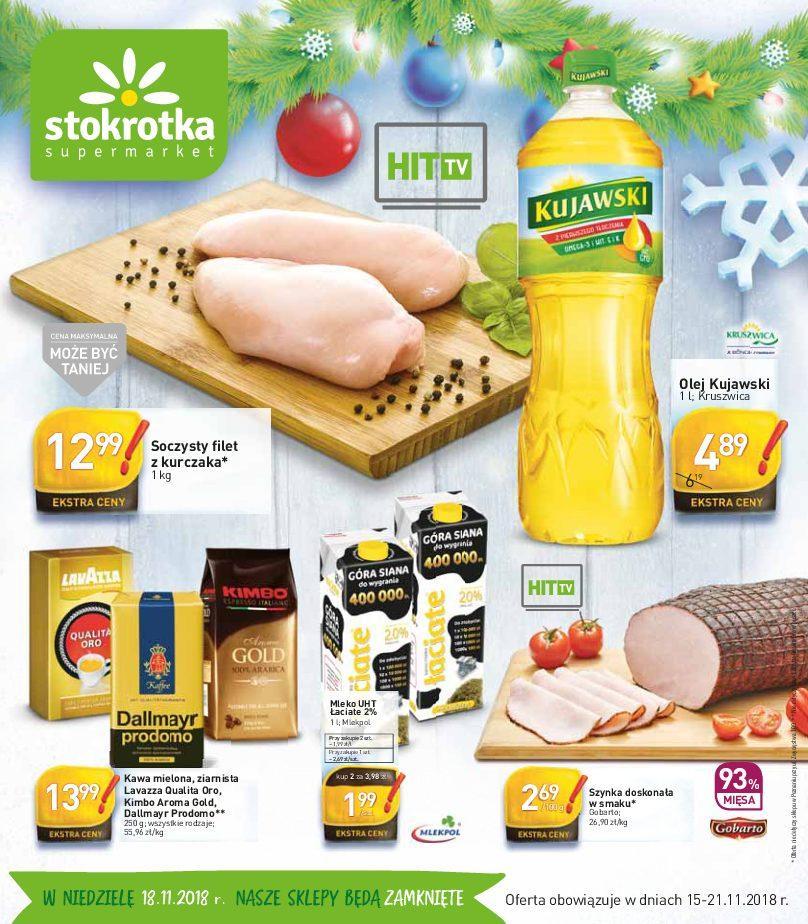 Gazetka promocyjna Stokrotka do 21/11/2018 str.0