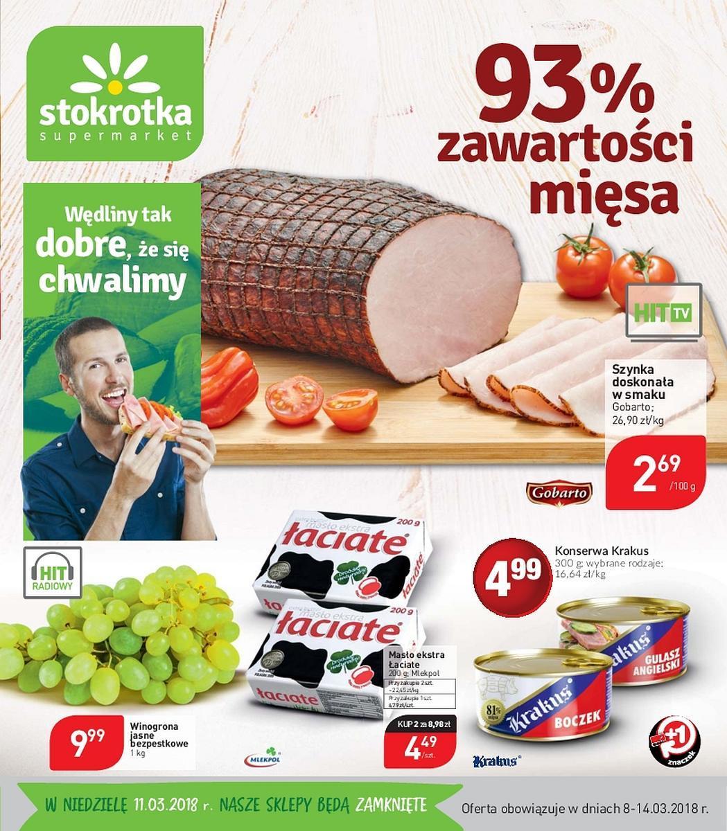 Gazetka promocyjna Stokrotka do 14/03/2018 str.0