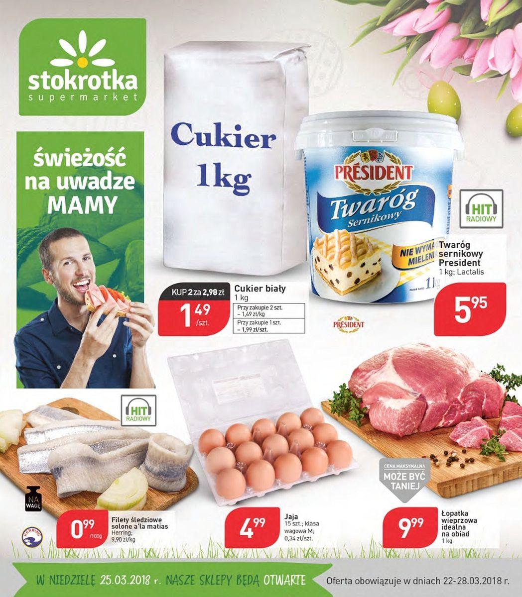 Gazetka promocyjna Stokrotka do 28/03/2018 str.0
