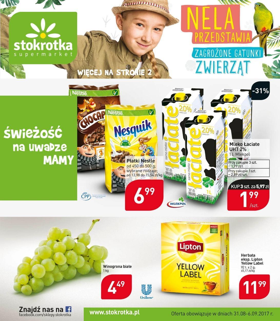 Gazetka promocyjna Stokrotka do 06/09/2017 str.0