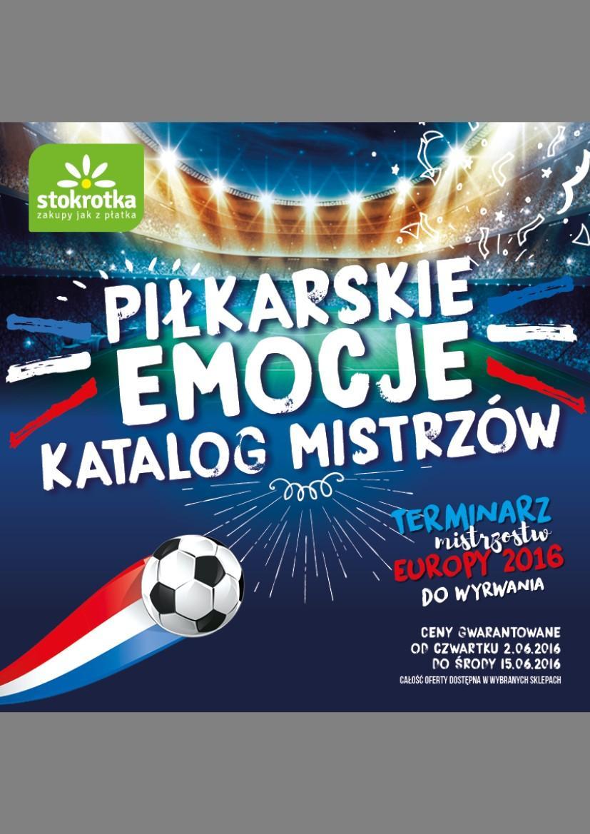 Gazetka promocyjna Stokrotka do 15/06/2016 str.0
