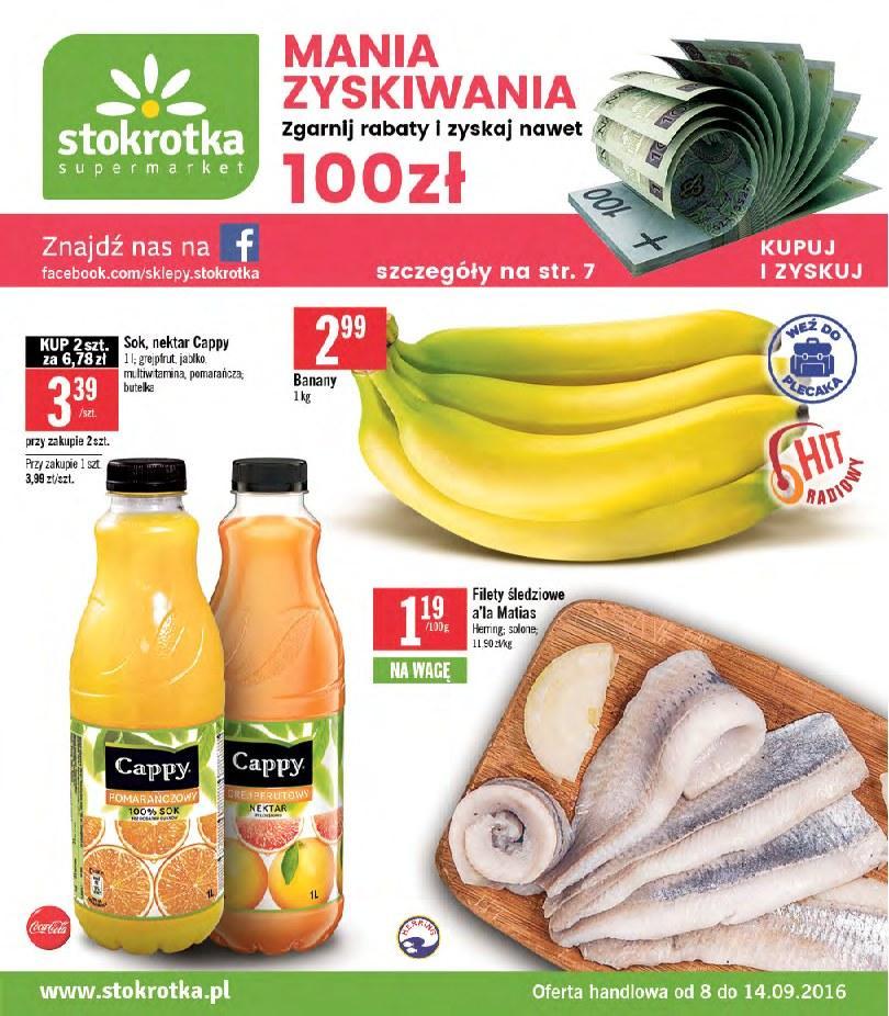 Gazetka promocyjna Stokrotka do 14/09/2016 str.0