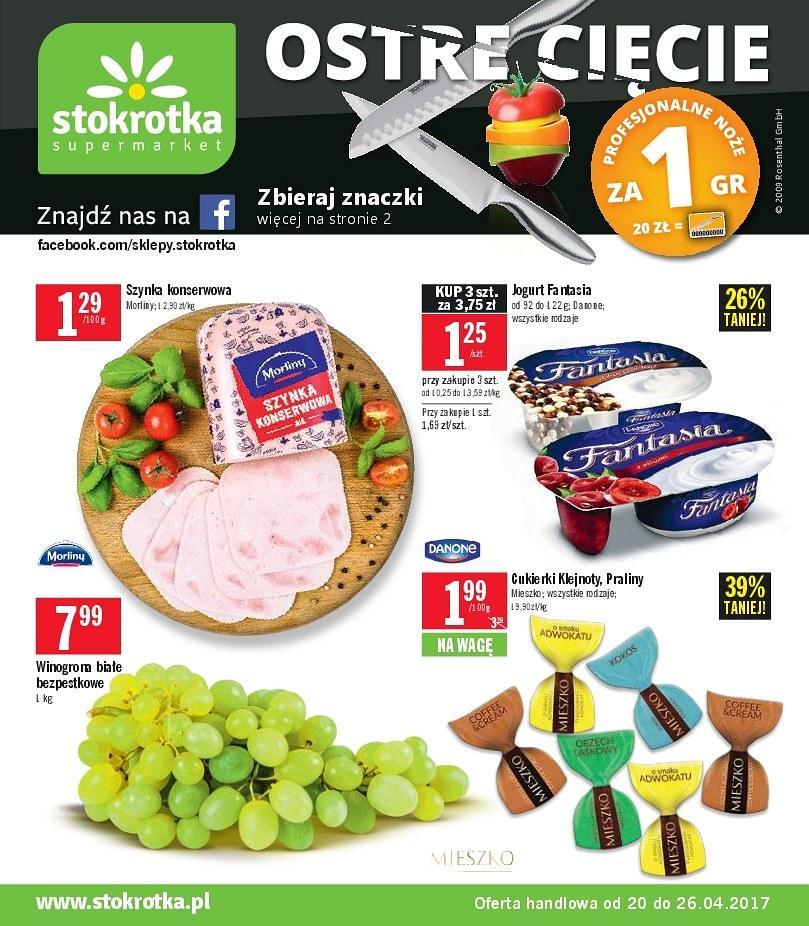 Gazetka promocyjna Stokrotka do 26/04/2017 str.0